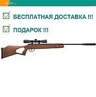 Пневматическая винтовка Crosman Benjamin Titan NP RM BW1K77NP с ОП 4×32 дерево газовая пружина 305 м/с, фото 1