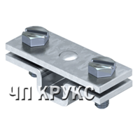 Держатель для плоских проводников, с крепежным отверстием Ø 7 мм