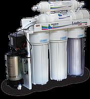 Обратный осмос с помпой и биокерамикой Leaderfilter Modern RO-5 P BIO МТ18