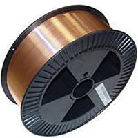 Проволока омеднённая сварочная СВ08Г2С ф.1,0мм (15кг)