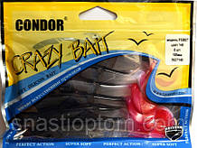 Твістер Кондор Crazy bait FSB07, колір 148, 105мм, 6шт