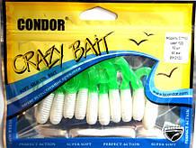 Твістер Кондор Crazy bait CTF60, колір 123, 60мм, 10шт
