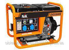 Генератор 4,5 кВА NIK DG5500Е: продажа, цена в Одессе