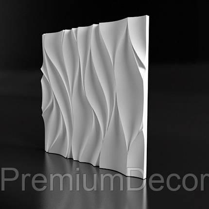 Гипсовые 3Д/3D панели ТАНЕЦ, фото 2