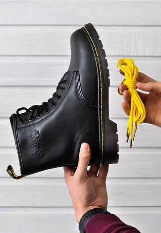 dfa7fc1e4c67 Женские зимние ботинки в стиле Dr. Martens Original c 8 парами люверсов с  мехом,