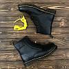 Женские зимние ботинки в стиле Dr. Martens Original c 8 парами люверсов с мехом - Фото
