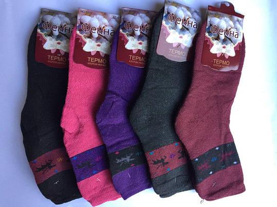 Махровые женские носки 37-41 Фенна, фото 2