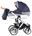 Детская коляска универсальная 2 в 1 Adamex Prince X-9 (Адамекс Принц, Польша), фото 2