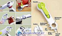 Открывалка консервный нож «6 в 1» Kitchen CanDo