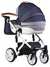 Детская коляска универсальная 2 в 1 Adamex Prince X-9 (Адамекс Принц, Польша), фото 3
