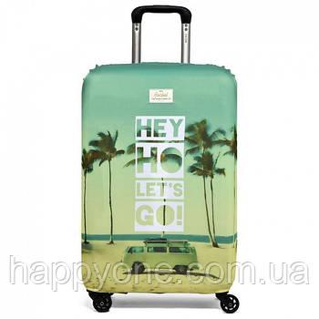 Чохол для валізи Hey Ho let's Go Rocket Design