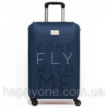 Чохол для валізи Come Fly with Me Rocket Design