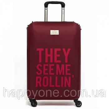 Чохол для валізи They See Me Rollin' Rocket Design