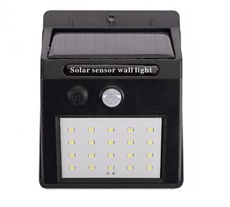 Светильник LED на солнечной батарее с датчиком движения IP64