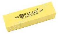 Желтый  бафик Salon professional 400/400