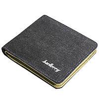 ✓Кошелек мужской Baellerry D3286 Black для кредитных карточек денег визиток удобный не маркий