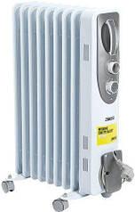 Масляный радиатор Zanussi ZOH/ES-09WN 2000W 9 секций