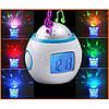 Ночник, проектор, будильник Музыкальные часы с проектором звездного неба UI1038, фото 3