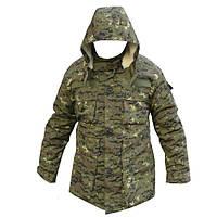 Зимняя куртка НАТО Грузия на овчине, фото 1