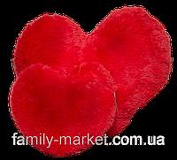 """Мягкая подушка """"Сердце"""" 22 см (алая)"""