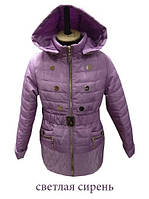 Куртка весняна для дівчинки підліткова
