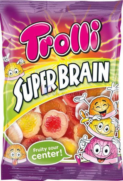 Жевательные конфеты Trolli Super Brain