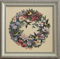 DIMENSIONS Hummingbird Wreath Венок с колибри , фото 1