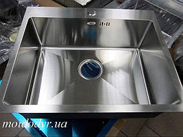 Мойка врезная кухонная MD 500мм х 600мм из нержавеющей стали