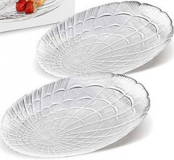 Набор овальных тарелок мелких Pasabahce Atlantis 147мм*240мм 2 шт (10238)