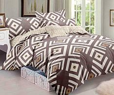 Полуторный комплект постельного белья 150 220 сатин (10556) TM КРИСПОЛ  Украина 9e7e199bd395c