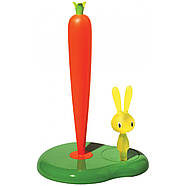 Держатель бумажных полотенец Bunny & Carrot Alessi (зеленый), фото 3