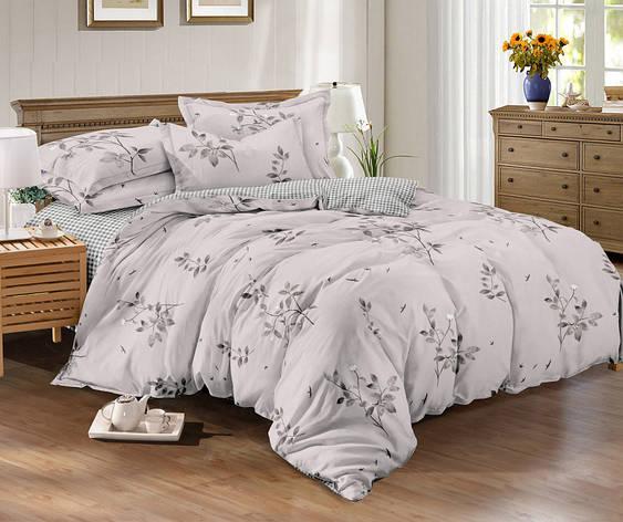 Семейный комплект постельного белья сатин (10647) TM КРИСПОЛ Украина, фото 2