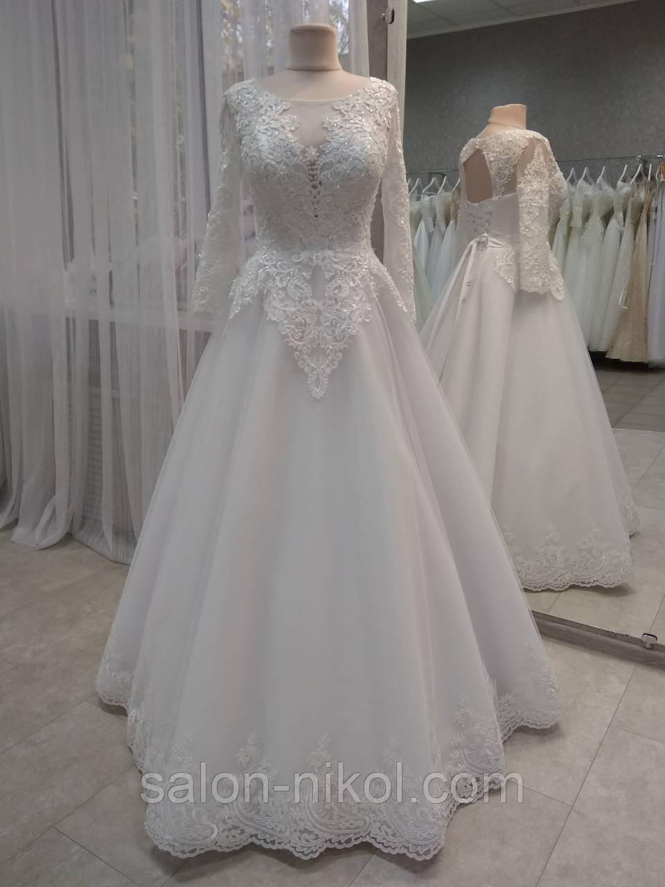 Свадебное платье 1853