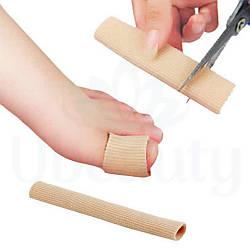 Захисна силіконова трубка для пальців, від мозолів, 13 см