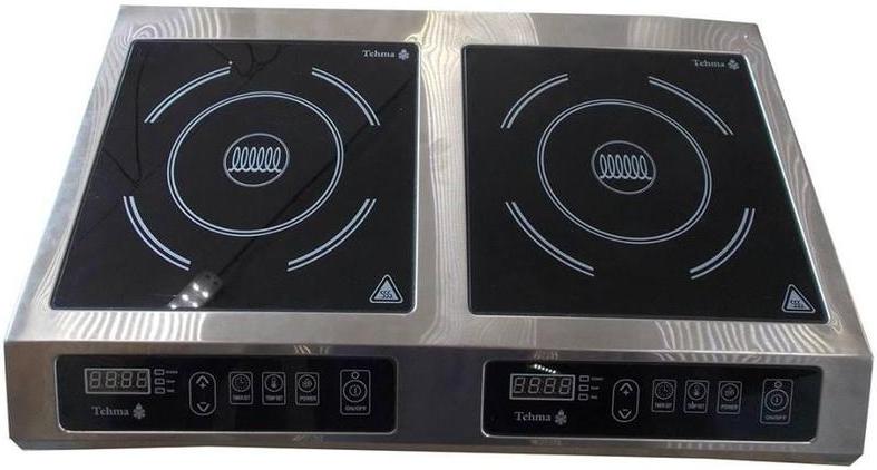 Индукционная настольная плита Техма 2Кx3,5 кВт