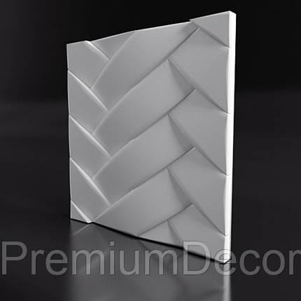 Гипсовые 3Д/3D панели ПЕРЕПЛЕТ, фото 2