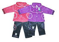 Костюм детский вельветовый тройка для девочки. №498, фото 1