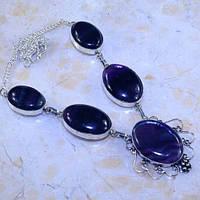 Ожерелье колье флюорит колье с флюоритом натуральный флюорит Индия, фото 1