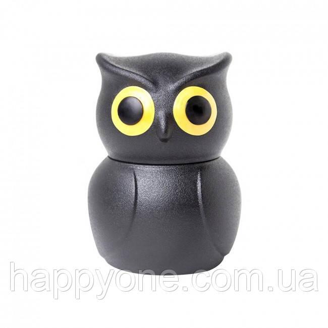 Стоппер для бутылки Owl Stopper Qualy (черный)