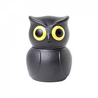 Стоппер для бутылки Owl Stopper Qualy (черный), фото 1