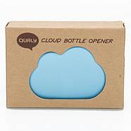 Открывалка-магнит для бутылок Cloud Qualy (голубая), фото 3