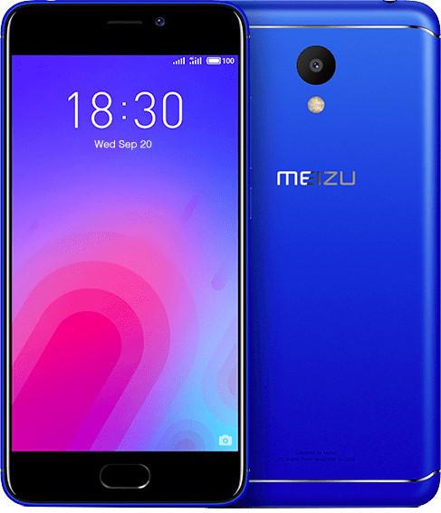 Сенсорный мобильный телефон Meizu M6 3/32 Blue
