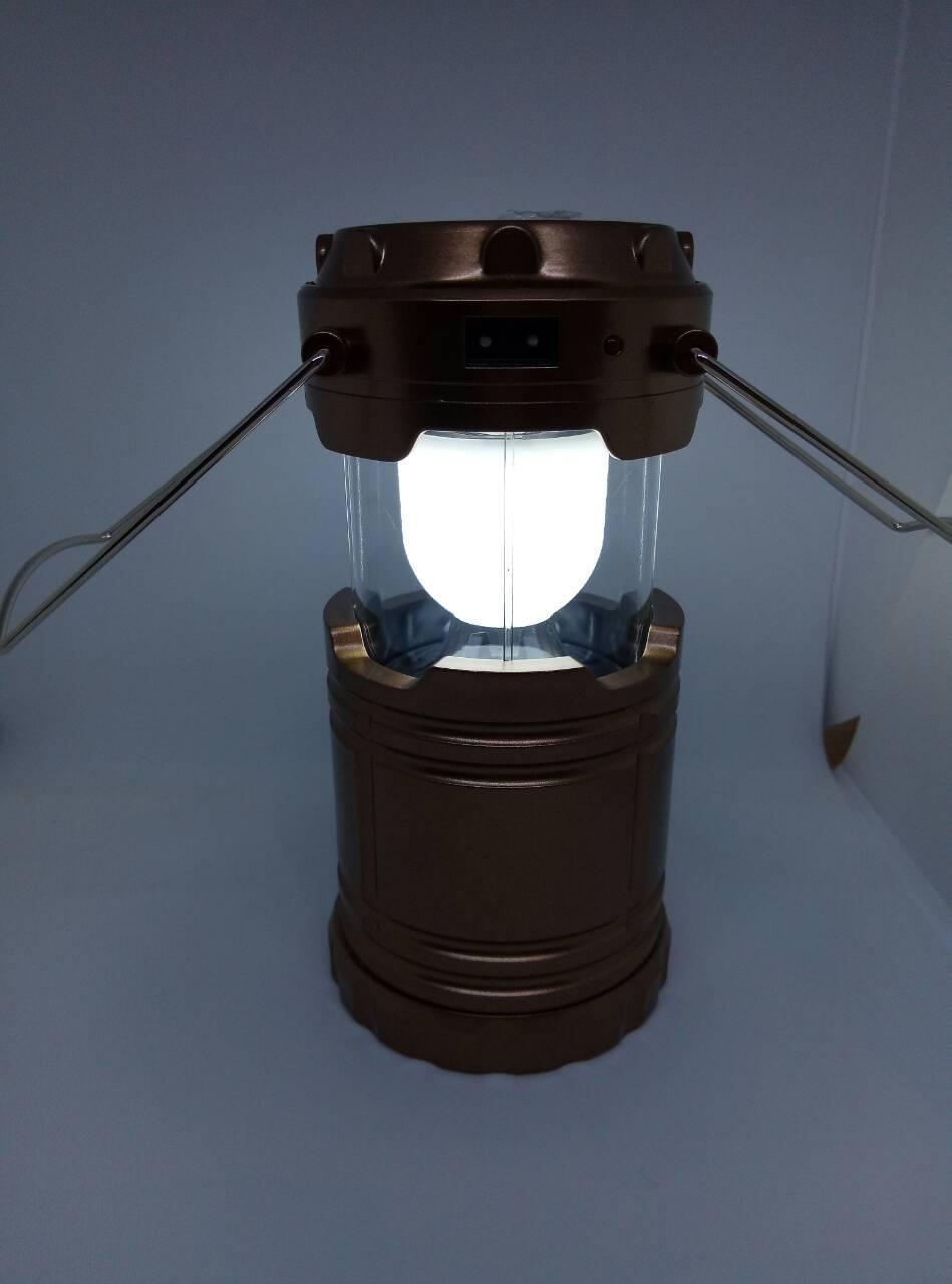 Кемпінговий ліхтар G85 6 led + solar