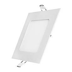 Светодиодный светильник DELUX CFR LED10 4100К 6Вт квадрат, фото 3