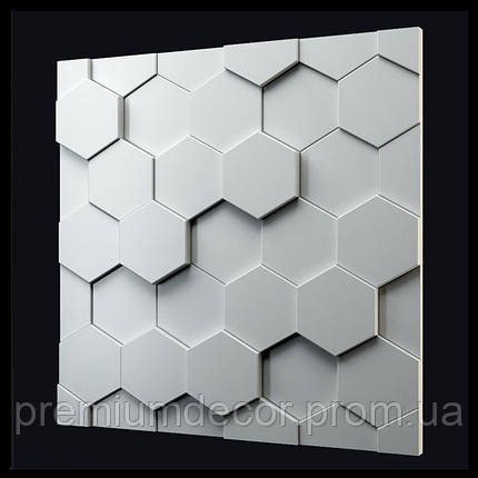 Гипсовые 3Д/3D панели УЛЕЙ, фото 2