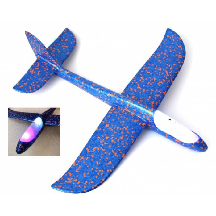Детский Светящийся метательный планер FLY Plane