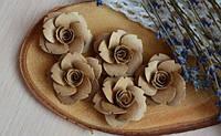 Набор Бумажные цветы 076, 5 шт