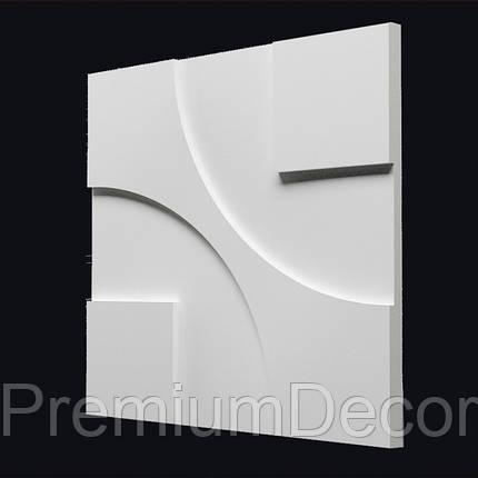 Гипсовые 3Д/3D панели ТЕХНО, фото 2