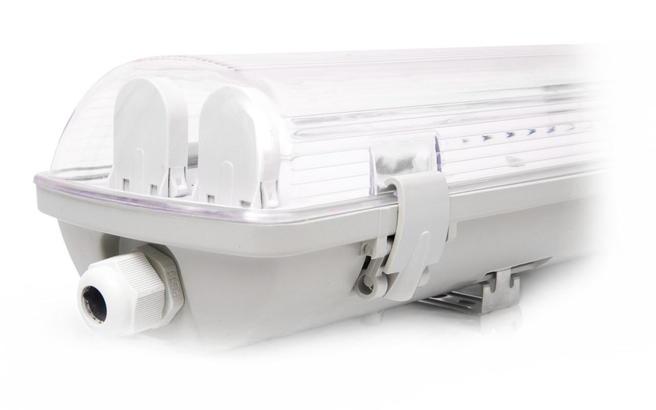 Светильник IP65  EVRO-LED-SH-40 slim c Led лампами 4000К(2*1200мм)