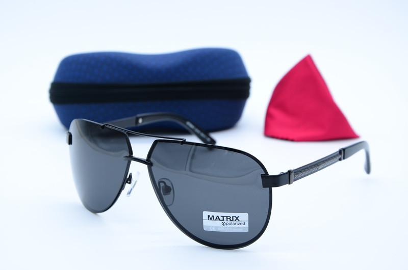 Мужские солнцезащитные очки Авиатор Matrix 8441 с9-91